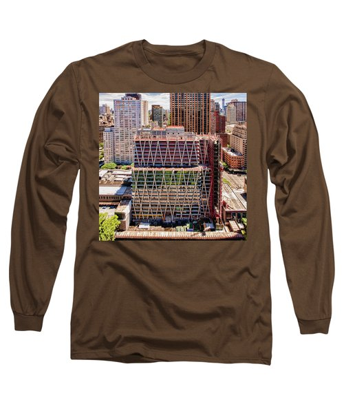 Jun2014rearwideabove Long Sleeve T-Shirt by Steve Sahm