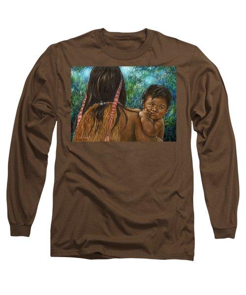 Jungle Family Long Sleeve T-Shirt by Sandra LaFaut