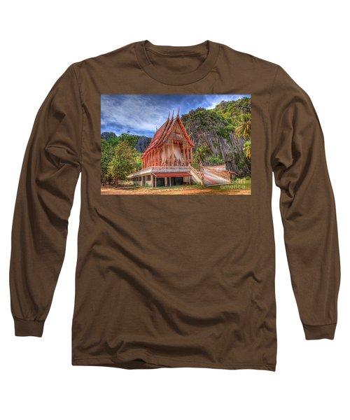 Jungle Temple V2 Long Sleeve T-Shirt