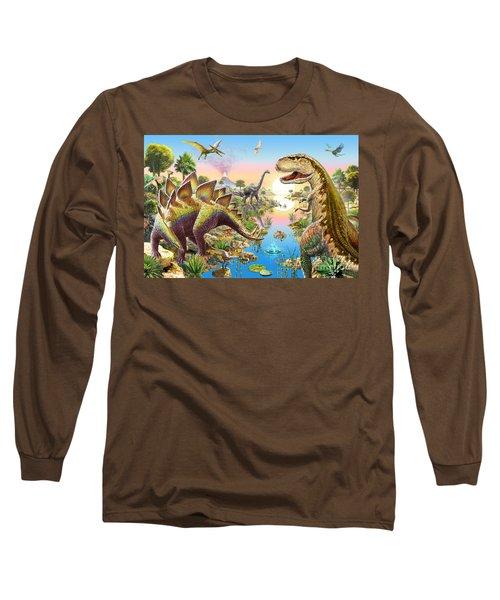 Jurassic River Long Sleeve T-Shirt