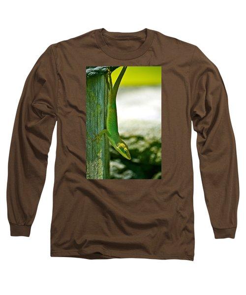 Just Hanging... Long Sleeve T-Shirt by Lehua Pekelo-Stearns