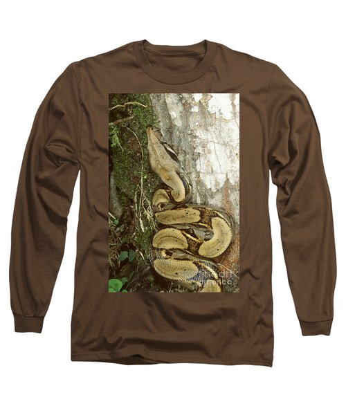 Juvenile Boa Constrictor Long Sleeve T-Shirt