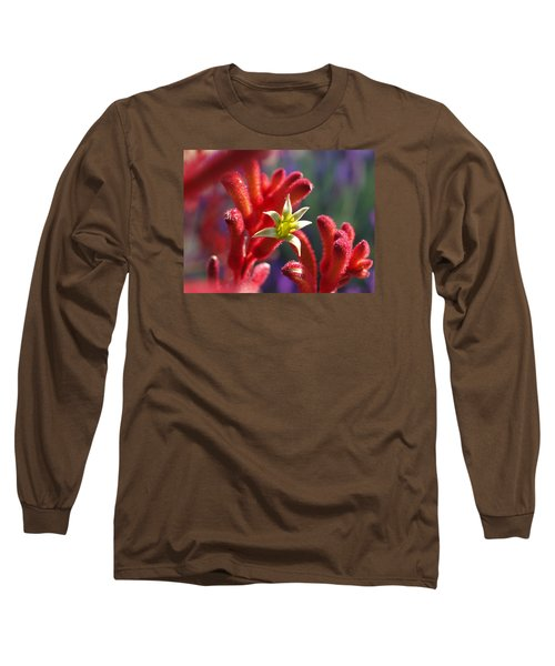 Long Sleeve T-Shirt featuring the photograph Kangaroo Star by Evelyn Tambour