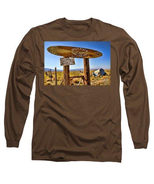 Keeler Beach Camping By Diana Sainz Long Sleeve T-Shirt