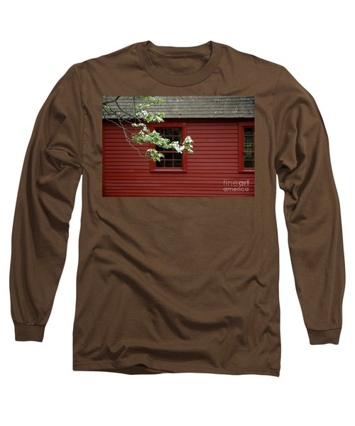 Long Sleeve T-Shirt featuring the photograph Keeney School House by Christiane Hellner-OBrien