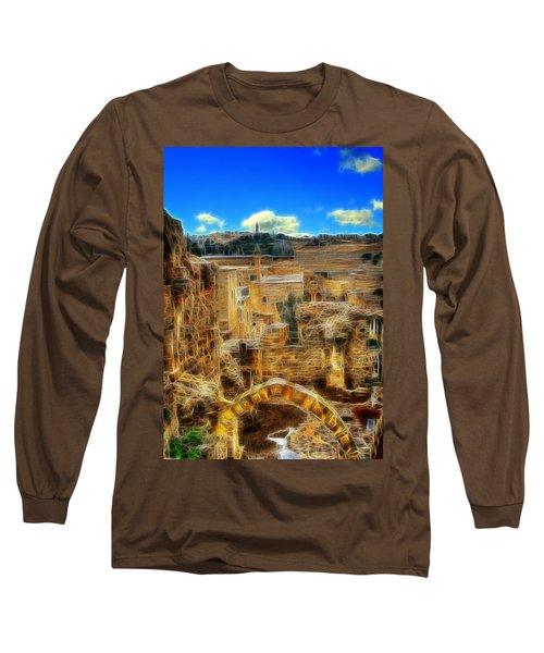 Peaceful Israel Long Sleeve T-Shirt
