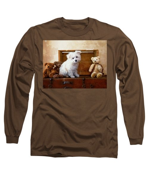 Kip And Friends Long Sleeve T-Shirt by Toni Hopper