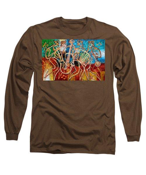 Klezmer Music Band Long Sleeve T-Shirt