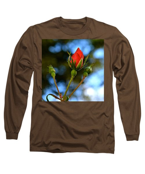 Knockout Rosebud Long Sleeve T-Shirt