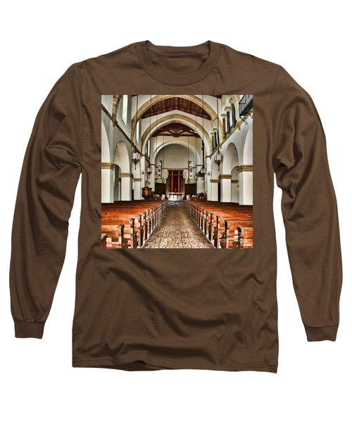 Knowles Memorial Chapel Rollins College 2 By Diana Sainz Long Sleeve T-Shirt