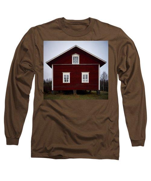 Kovero Main House Long Sleeve T-Shirt by Jouko Lehto