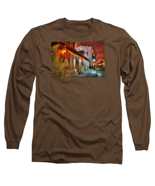 Long Sleeve T-Shirt featuring the photograph Lafitte's Blacksmith Shop by Tim Stanley