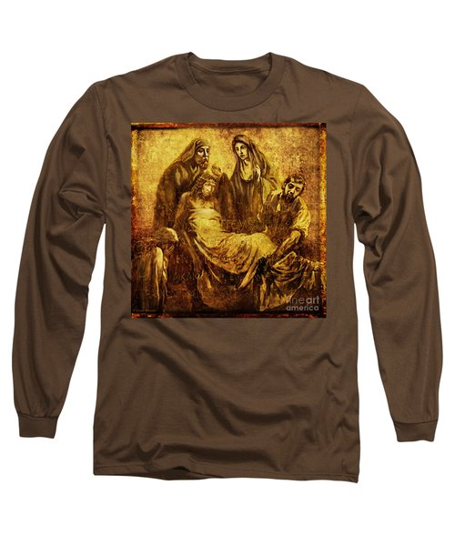 Laid_in_the_tomb Via Dolorosa 14 Long Sleeve T-Shirt