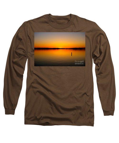 Lake Independence Sunset Long Sleeve T-Shirt