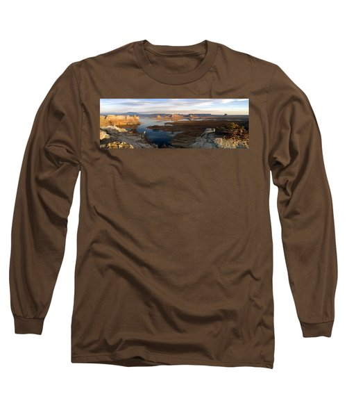 Lake Powell From Alstrum Pt Pan 2 Long Sleeve T-Shirt