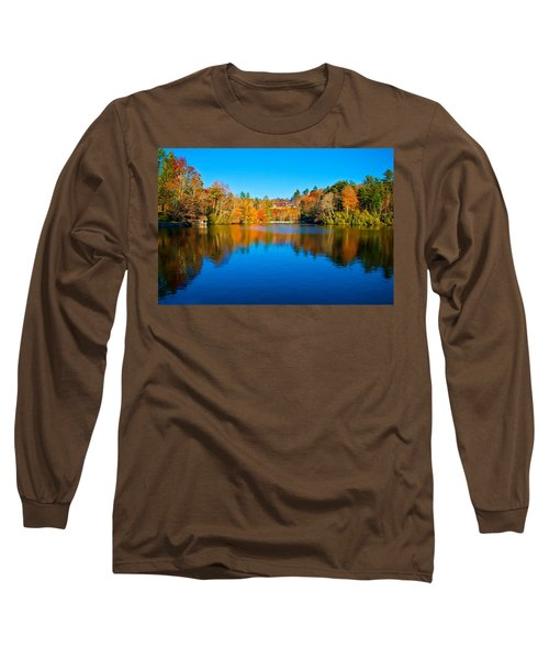 Long Sleeve T-Shirt featuring the photograph Lake Reflections by Alex Grichenko