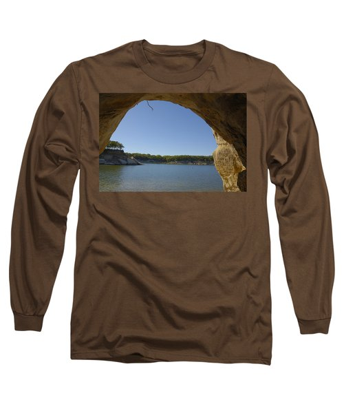 Lake Texoma Eisenhower State Park  Texas Long Sleeve T-Shirt by Charles Beeler