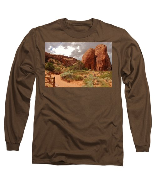 Landscape Arch - Utah Long Sleeve T-Shirt