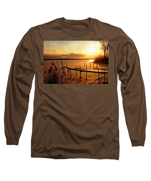 Last Winter ? Long Sleeve T-Shirt by Daniel Thompson