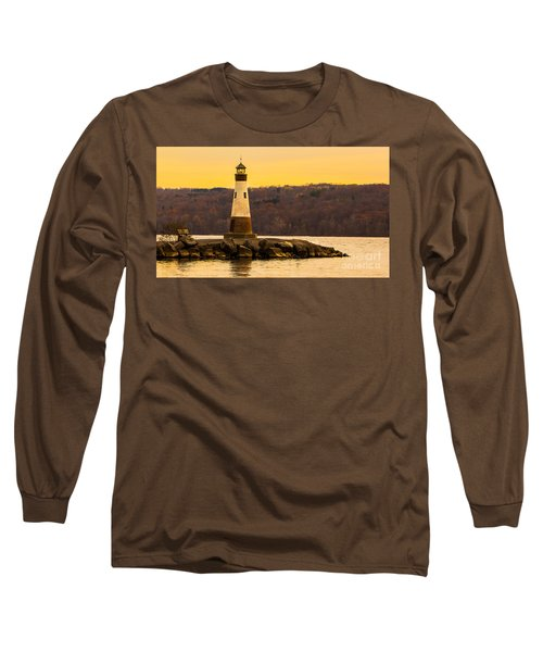 Late Fall Sunset At Myers Park Long Sleeve T-Shirt