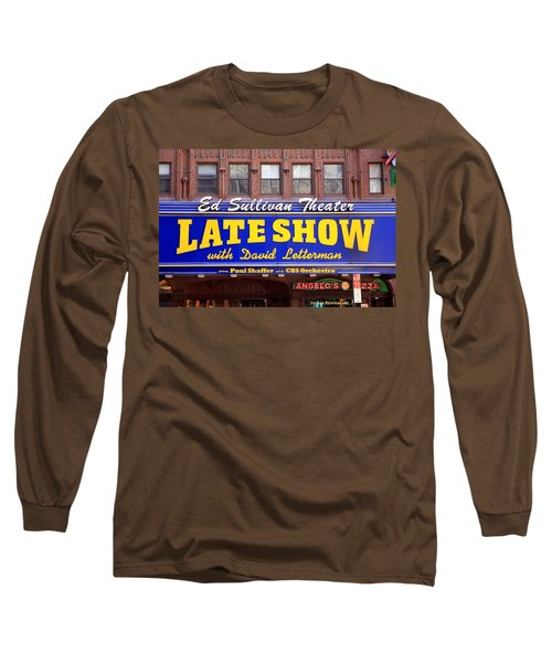 Late Show New York Long Sleeve T-Shirt