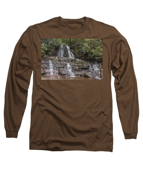 Laurel Falls - Great Smoky Mountains National Park Long Sleeve T-Shirt