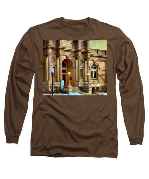 Lawrence City Library Long Sleeve T-Shirt