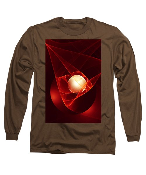 Long Sleeve T-Shirt featuring the digital art Lead Me Into Temptation by Gabiw Art