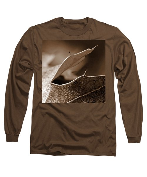 Long Sleeve T-Shirt featuring the photograph Leaf Collage 2 by Lauren Radke