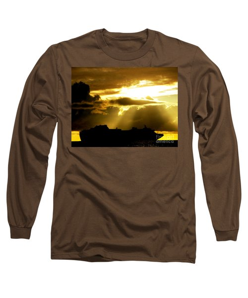 Long Sleeve T-Shirt featuring the photograph Leaving Kona by David Lawson