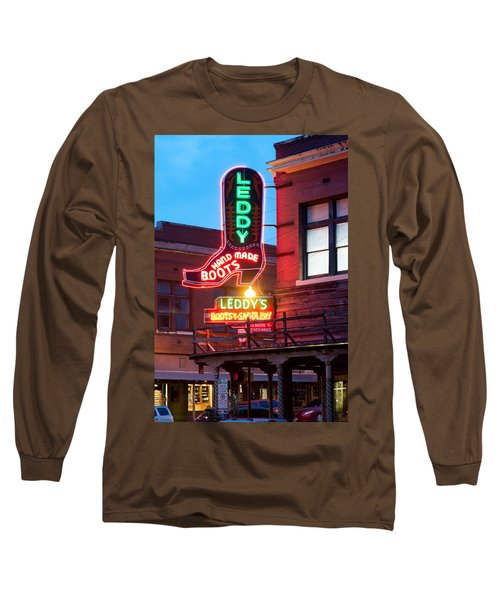Leddy Hand Made Boots 031315 Long Sleeve T-Shirt