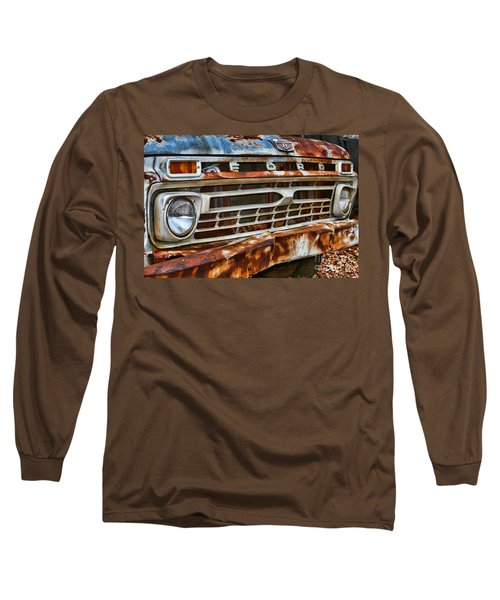 Left To Rust By Diana Sainz Long Sleeve T-Shirt