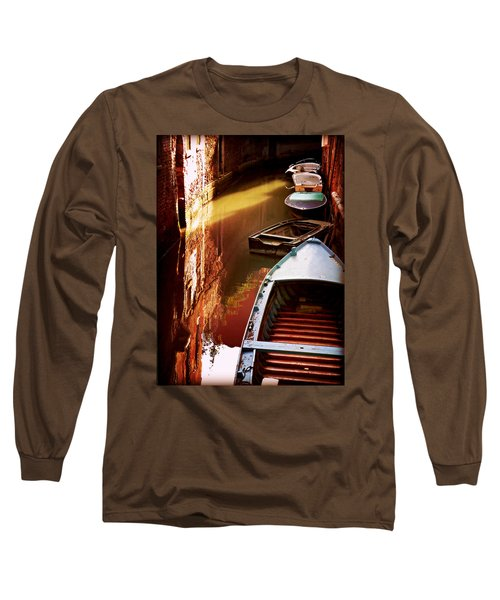 Legata Nel Canale Long Sleeve T-Shirt by Micki Findlay