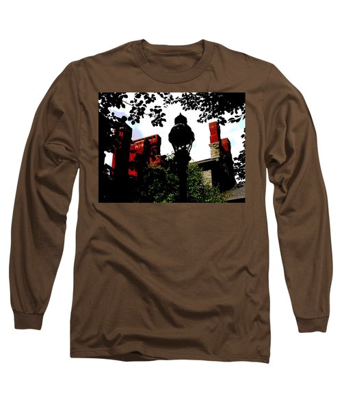Lehigh University Chandler Ullman Long Sleeve T-Shirt by Jacqueline M Lewis