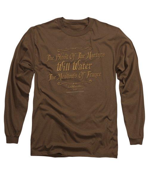 Les Miserables - Martyrs Long Sleeve T-Shirt