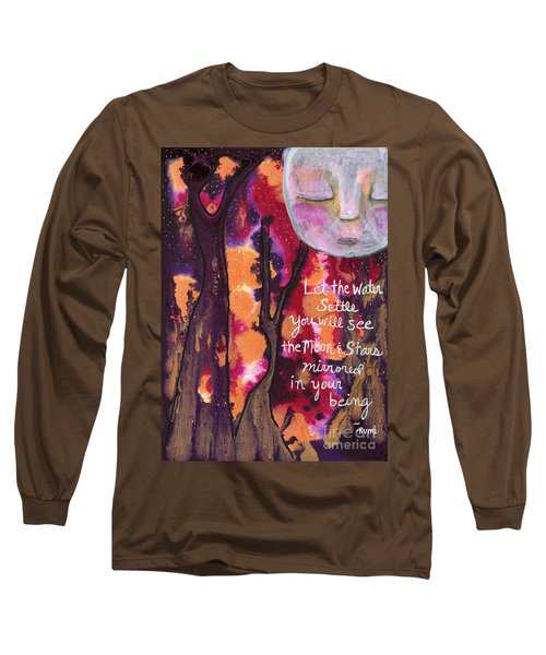 Let The Water Settle Long Sleeve T-Shirt