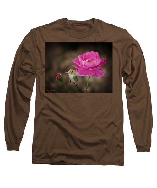 Long Sleeve T-Shirt featuring the photograph Life by Lucinda Walter