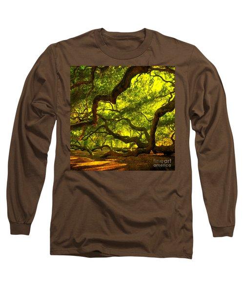 Lighter Version 40x40 Long Sleeve T-Shirt by Susanne Van Hulst