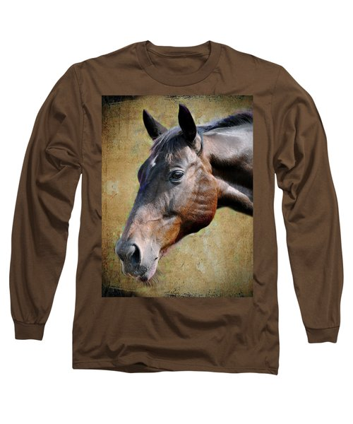 Lil Word Long Sleeve T-Shirt by Savannah Gibbs