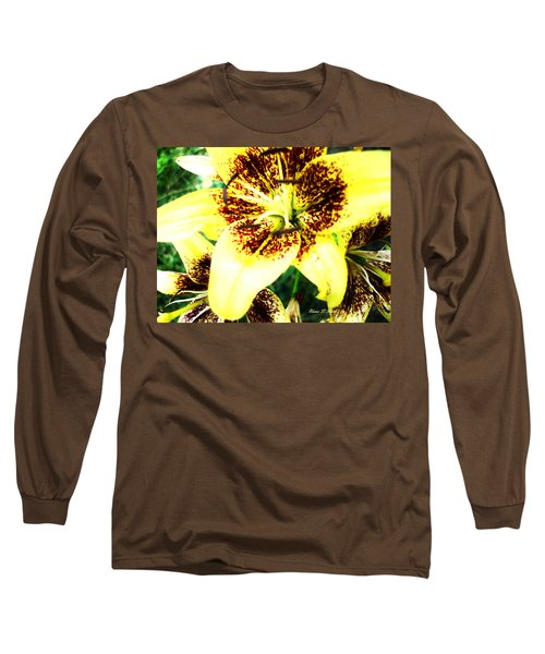 Long Sleeve T-Shirt featuring the photograph Lily Love by Shana Rowe Jackson