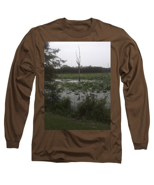 Long Sleeve T-Shirt featuring the photograph Lily Pads by Fortunate Findings Shirley Dickerson