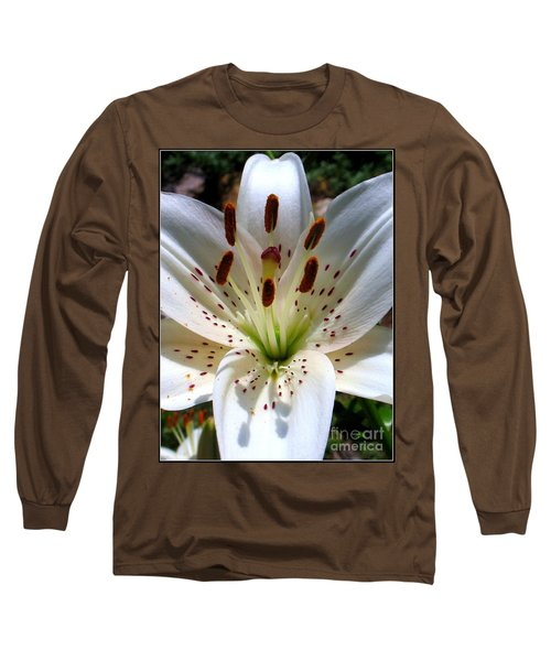 Long Sleeve T-Shirt featuring the photograph Lily by Patti Whitten