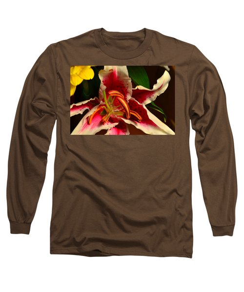 Lily Rose Flower 2 Long Sleeve T-Shirt