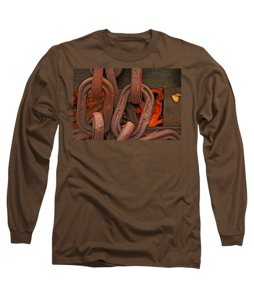 Long Sleeve T-Shirt featuring the photograph Linked by Rowana Ray