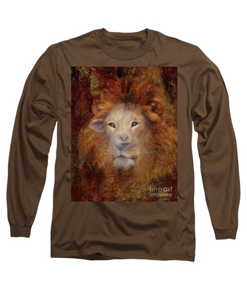 Lion Lamb Face Long Sleeve T-Shirt