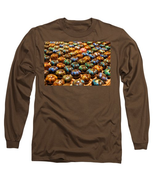 Little Pigs Long Sleeve T-Shirt by Ron Harpham