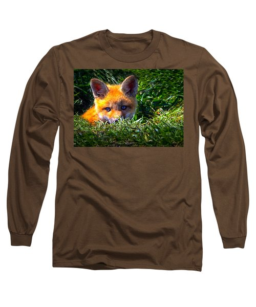 Little Red Fox Long Sleeve T-Shirt