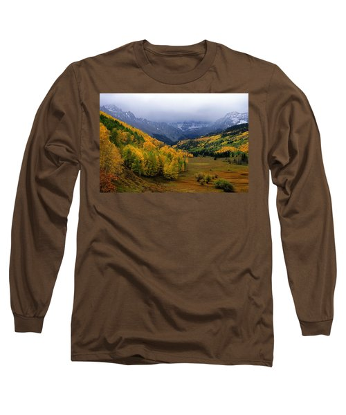 Little Meadow Of The Sublime Long Sleeve T-Shirt by Eric Glaser