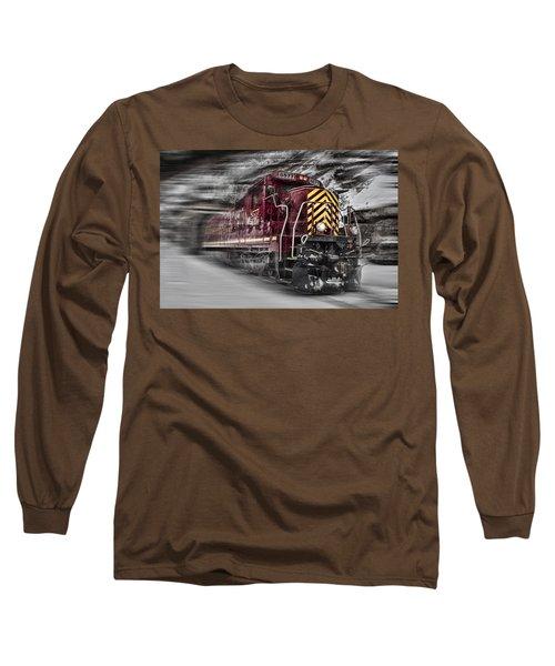 Locomotion Long Sleeve T-Shirt by Ellen Heaverlo