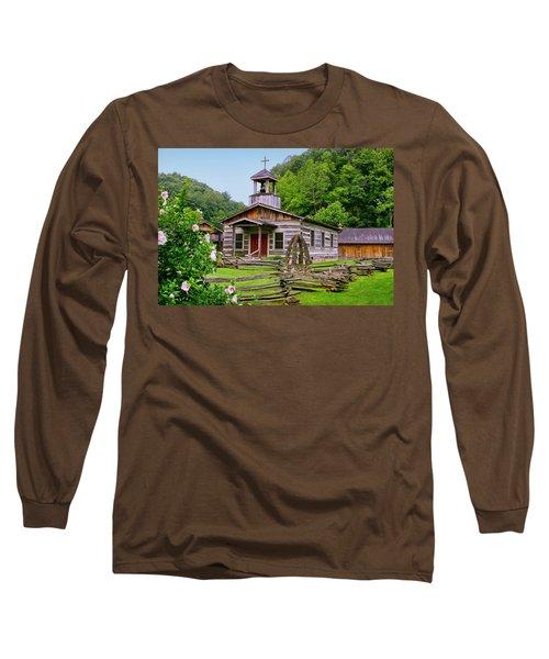 Log Church Long Sleeve T-Shirt